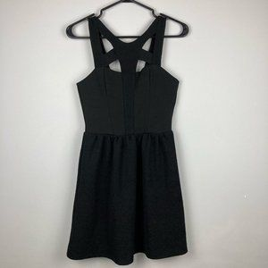 Topshop Sleeveless Cut Out Front Dress Size 4